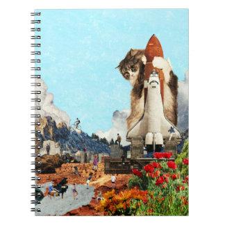 shuttle cat notebook
