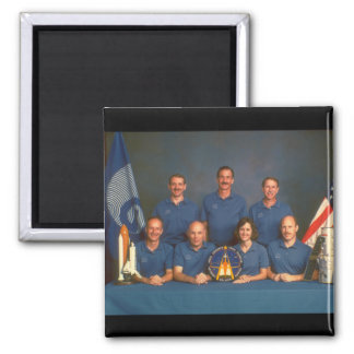 Shuttle crew. (crew_Space Square Magnet