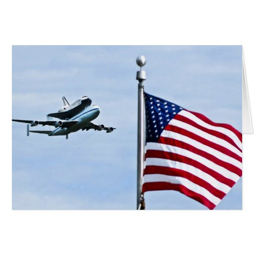 "Shuttle Discovery ""final flight"" Birthday Card"