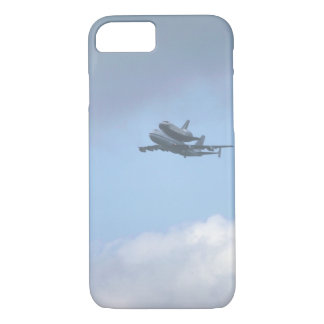 "Shuttle ""Discovery"" near_Military Aircraft iPhone 7 Case"