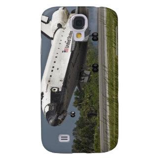 Shuttle Endeavour landing Kennedy Space Center Galaxy S4 Case
