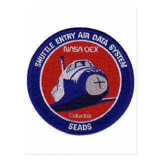 SHUTTLE ENTRY AIR DATA SYSTEM POSTCARD