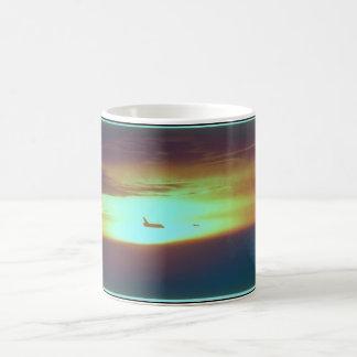Shuttle in the Horizon_Space Coffee Mug