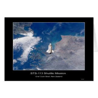 Shuttle-iss005e21472 Greeting Card