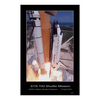 Shuttle-ksc-01pp-0832 Poster