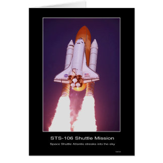 Shuttle Mission STS 107 Card