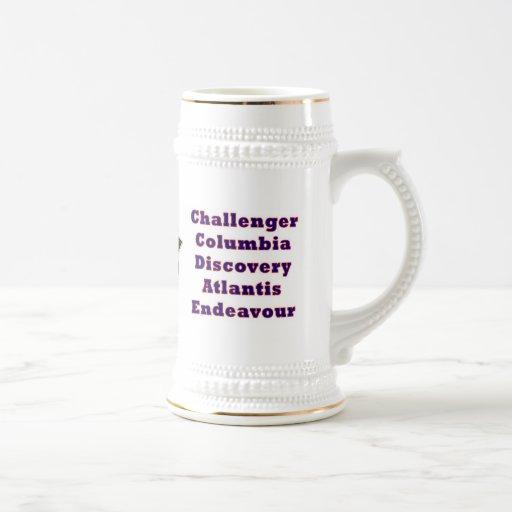 Shuttle Program Commemorative Mug
