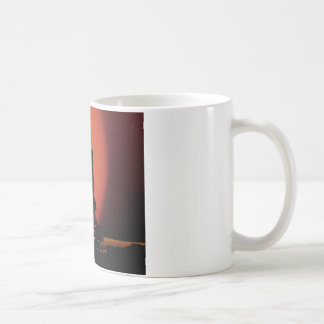 Shuttle silhouette coffee mug