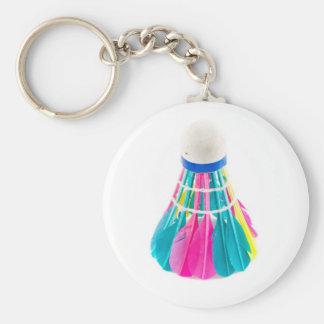 Shuttlecock Key Ring