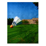 Shuttlecock on the Lawn Postcards