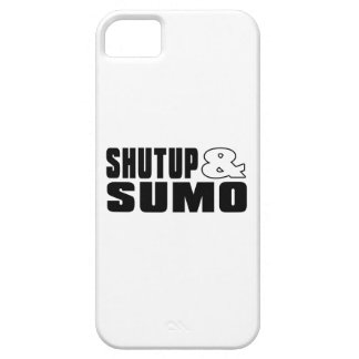 SHUTUP AND SUMO DESIGNS BARELY THERE iPhone 5 CASE