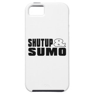 SHUTUP AND SUMO DESIGNS iPhone 5 COVER