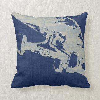 Shuvit Shove-It Skateboard Pillow  Navy Blues Cushions