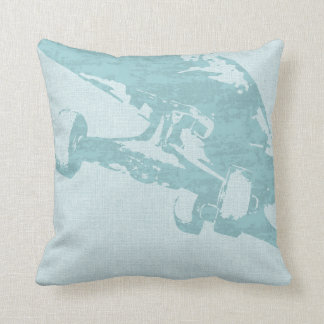 Shuvit Shove-It Skateboard Pillow  Seafoam Blue Cushions