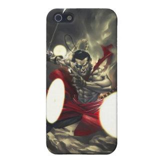 SHWANN: The Futuristic Samurai DJ iPhone 4 Case
