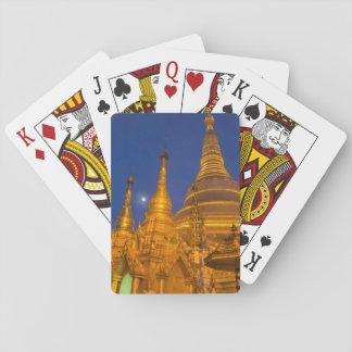 Shwedagon Pagoda at night, Myanmar Playing Cards