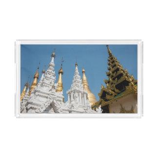 Shwedagon Pagoda Exterior Acrylic Tray