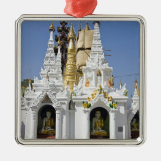 Shwedagon Pagoda (Paya), large temple site that 2 Christmas Ornament