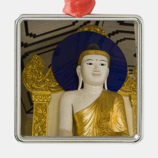 Shwedagon Pagoda (Paya), large temple site that 3 Christmas Ornament
