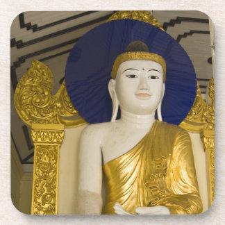 Shwedagon Pagoda (Paya), large temple site that 3 Drink Coaster
