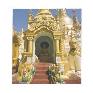 Shwedagon Pagoda (Paya), large temple site that 4 Notepads