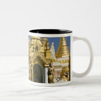 Shwedagon Pagoda (Paya), large temple site that Two-Tone Coffee Mug