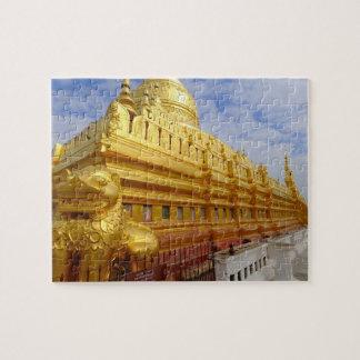 Shwezigon Pagoda in Bagan, Bagan (Pagan), Jigsaw Puzzle