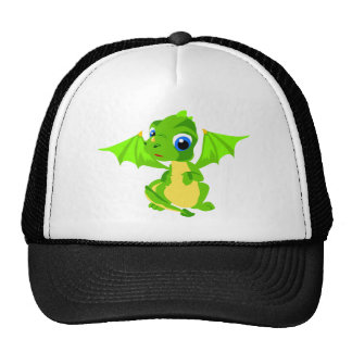 Shy Baby Dragon Trucker Hat
