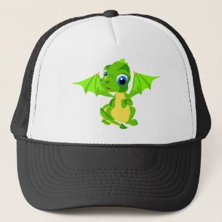 Shy Baby Dragon Trucker Hat