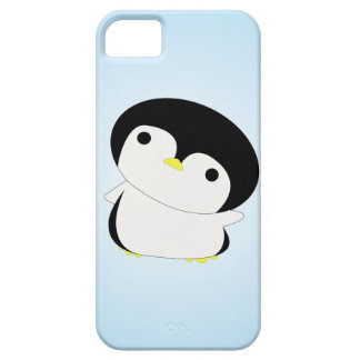 Shy Baby Penguin Says Hi iPhone Case iPhone 5 Covers