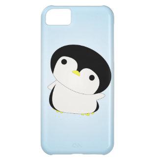 Shy Baby Penguin Says Hi iPhone Case iPhone 5C Cases