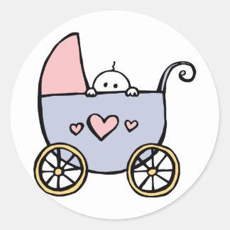 Shy Baby Stickers