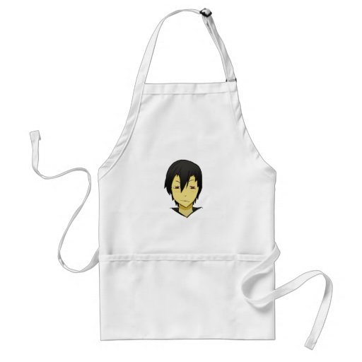 Shy but loving Anime character! Aprons