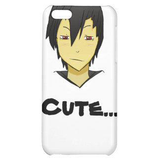 Shy but loving Anime character Case For iPhone 5C