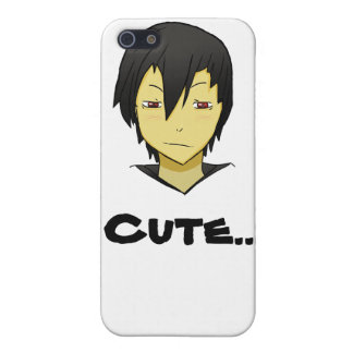 Shy but loving Anime character! iPhone 5 Covers