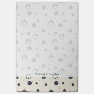 Shy Elephant Pattern Post-it Notes