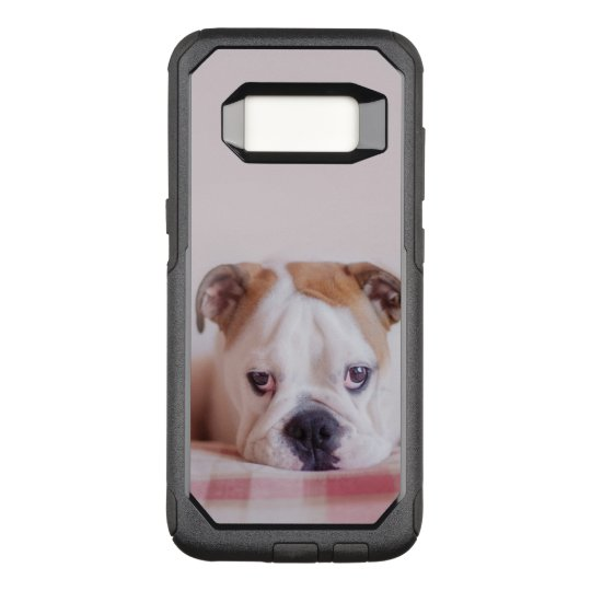 Shy English Bulldog Puppy OtterBox Commuter Samsung Galaxy