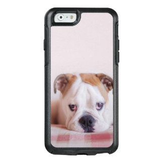 Shy English Bulldog Puppy OtterBox iPhone 6/6s Case