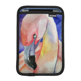 Shy Flamingo (Kimberly Turnbull Art) iPad Mini Sleeve