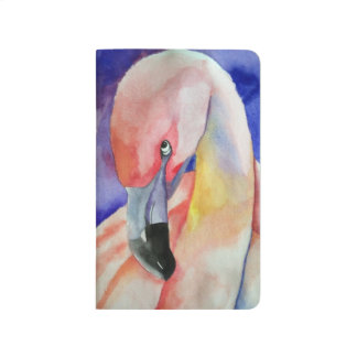 Shy Flamingo (Kimberly Turnbull Art) Journal