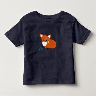 Shy Little Foxy Fox Toddler T-Shirt