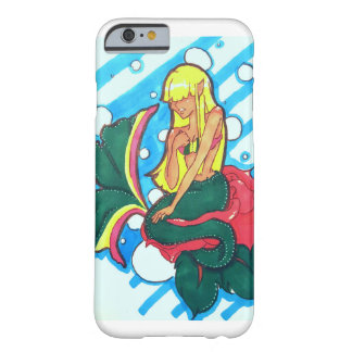 Shy mermaid barely there iPhone 6 case