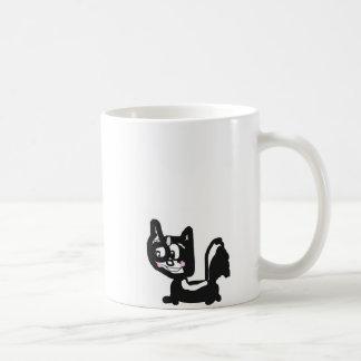 Shy Skunk Coffee Mug