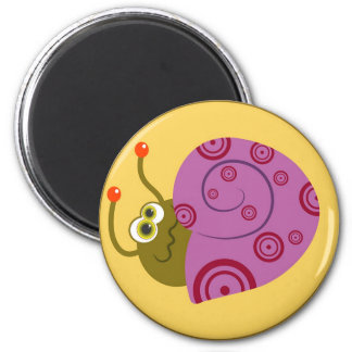 Shy Snail Magnet