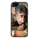Shy Young Male Hamadryas Baboon (Papio) OtterBox iPhone 5/5s/SE Case