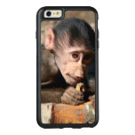Shy Young Male Hamadryas Baboon (Papio) OtterBox iPhone 6/6s Plus Case
