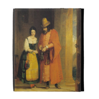 Shylock and Jessica from 'The Merchant of Venice', iPad Folio Covers