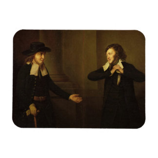Shylock and Tubal from Act III, Scene ii of 'The M Rectangular Photo Magnet