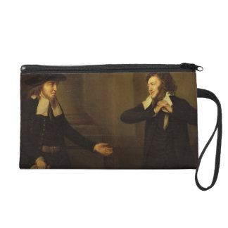 Shylock and Tubal from Act III, Scene ii of 'The M Wristlet Clutches