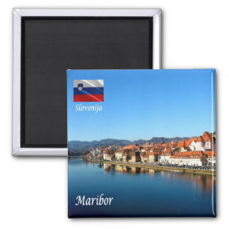 SI - Slovenia - Drava in Maribor Magnet